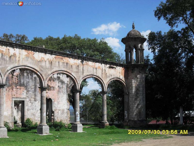 Fotos de Amealco de Bonfil, Quer�taro, M�xico: Hacienda y granero  de Sn. Nicolas de la Torre , Amealco