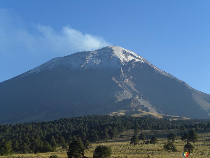 Fotos de Volcanes, México, México: 1 POPOCATEPETL
