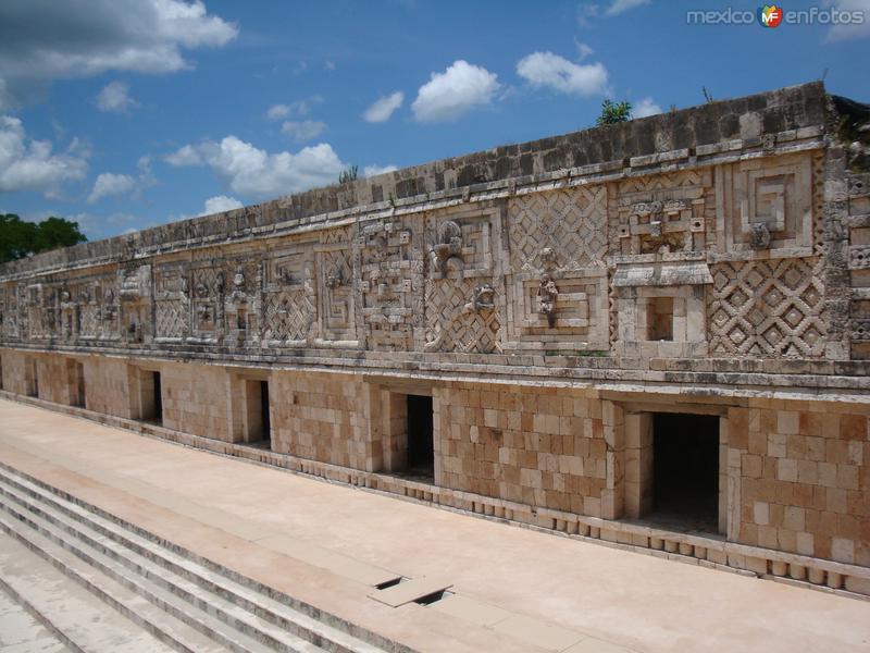 Fotos de Uxmal, Yucat�n, M�xico: Cuadr�ngulo de las MOnjas