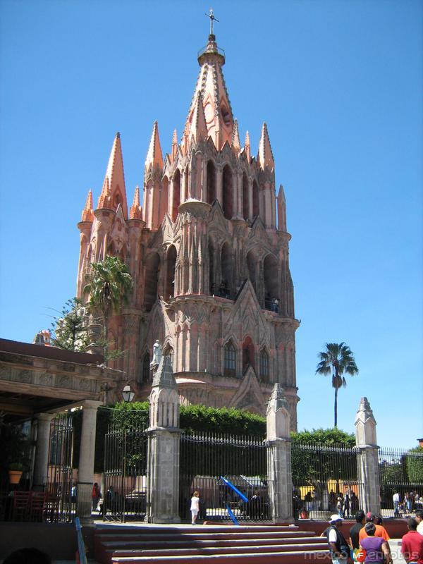 Fotos de San Miguel de Allende, Guanajuato, M�xico: Catedral