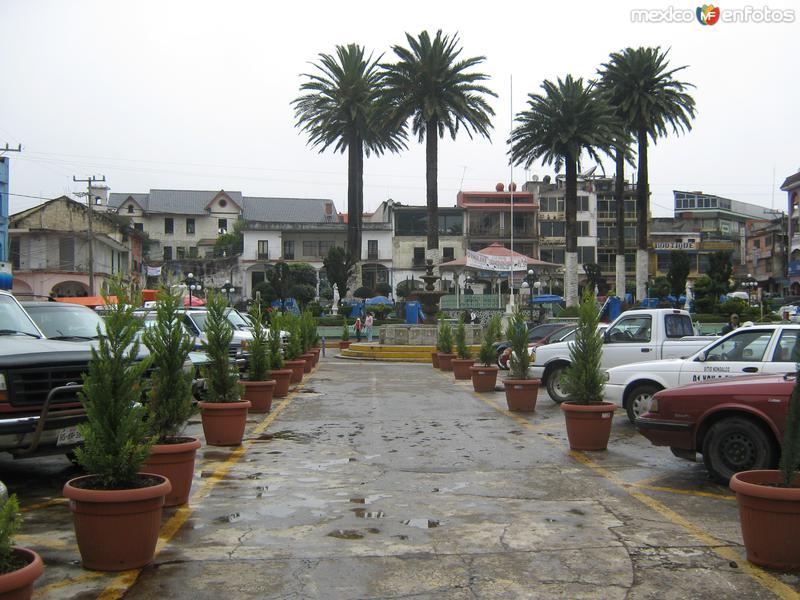 Fotos de Zacualtip�n, Hidalgo, M�xico: Centro de la ciudad