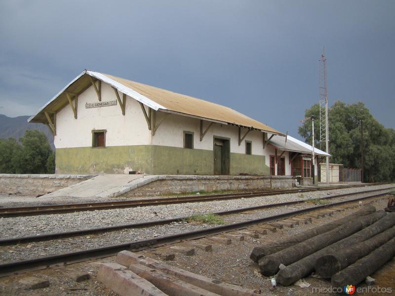 Fotos de Cuatro Ci�negas, Coahuila, M�xico: Estacion de Ferrocarril Cuatro Cienegas