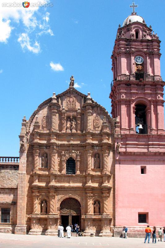 Fotos de Tlalpujahua de Rayón, Michoacán, México: Parroquia
