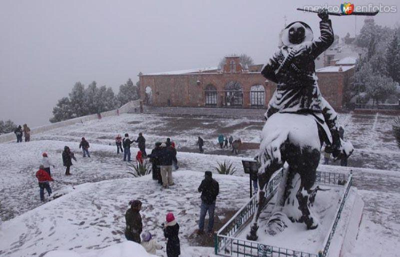 Fotos de Zacatecas, Zacatecas, M�xico: Nevada en Zacatecas