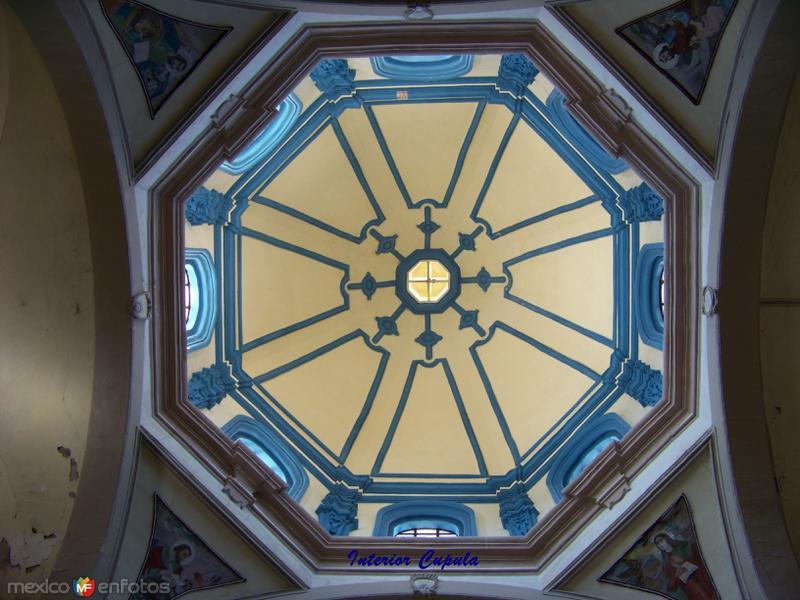 Interior de la Cupula Iglesia de la Purisima Concepción