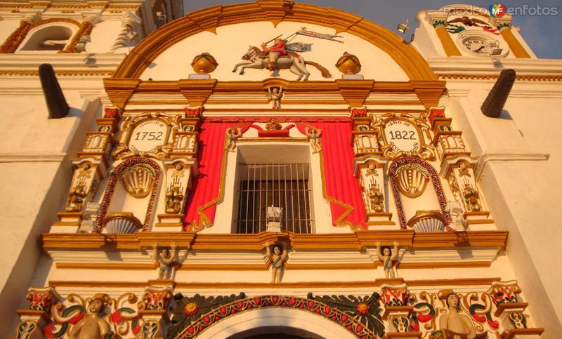 Fotos de Chignahuapan, Puebla, México: Fachada de la Parroquia. Chignahuapan.