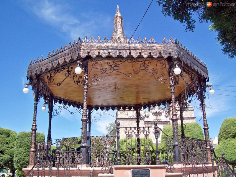 Fotos de Encarnaci�n de D�az, Jalisco, M�xico: KIOSKO