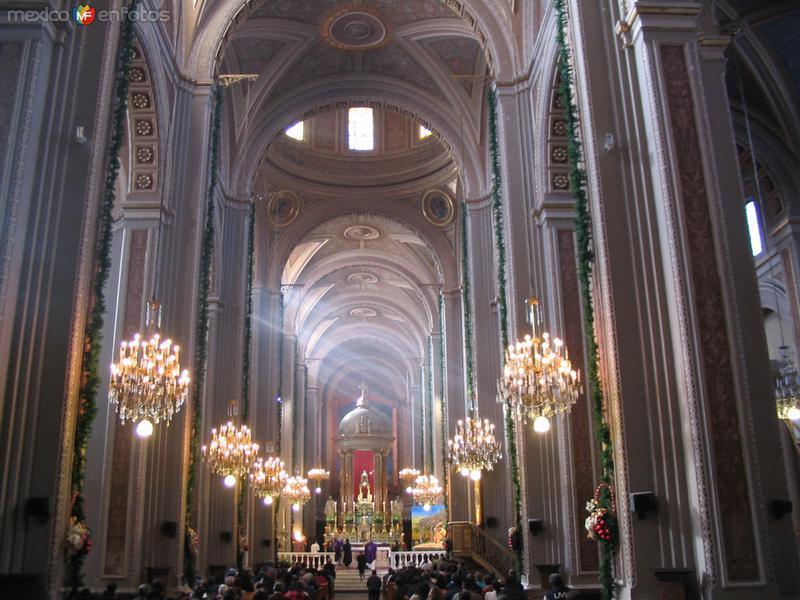 Altar catedral Morelia, Michoacán..