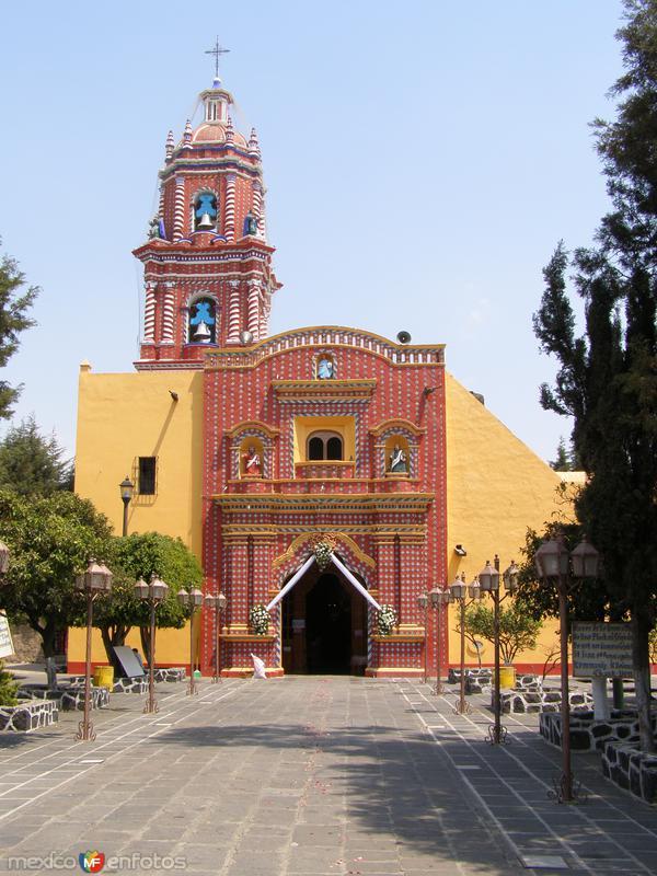 La famosa iglesia de Tonantzintla