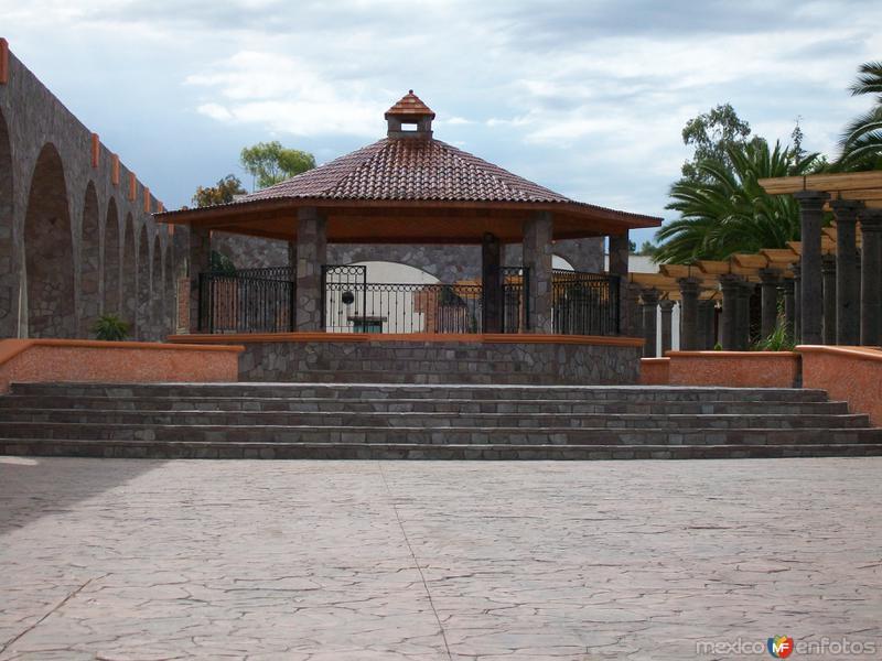 Quiosco de San Felipe Teotitlan