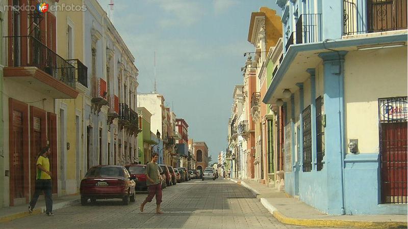 calles de campeche