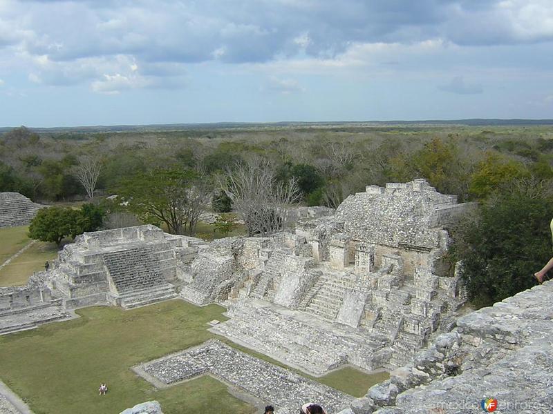 zona arqueologica de Edzna 3