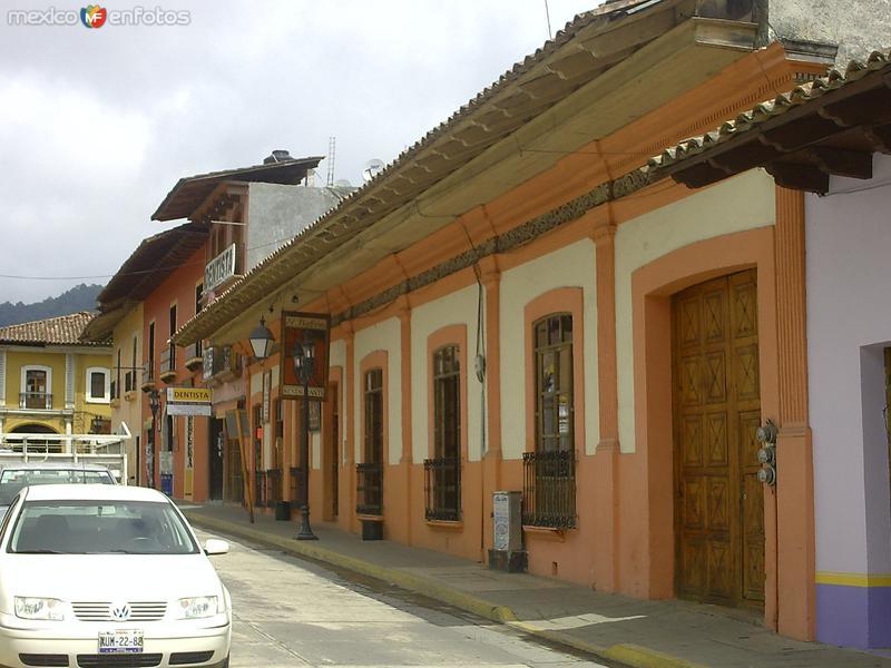 Fotos de Zacapoaxtla, Puebla, M�xico: Casas  t�picas