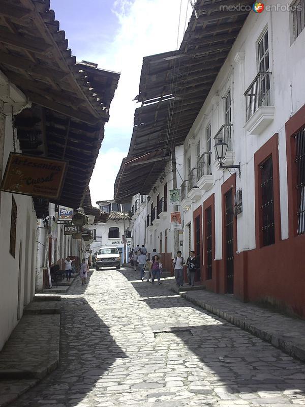 Fotos de Cuetzalan, Puebla, M�xico: Invitando  a  caminar