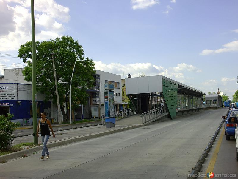 Estación del Macrobus