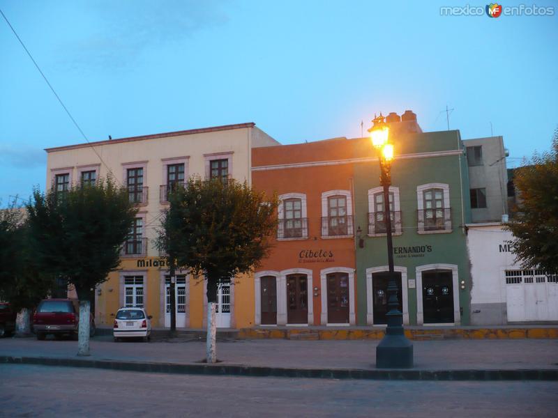 Fotos de Zacatecas, Zacatecas, M�xico: calles sombrerete