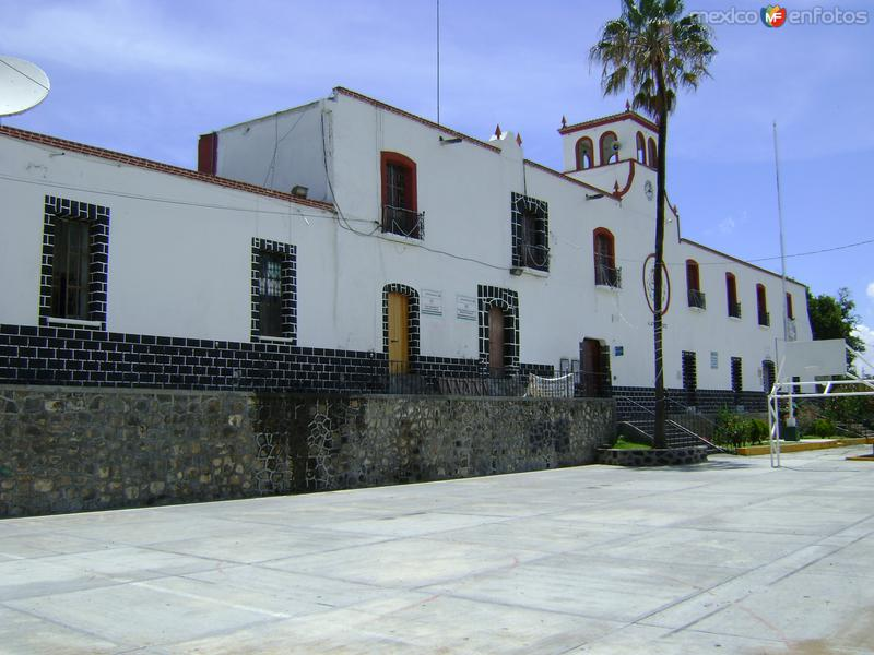 Palacio municipal. Tochimilco