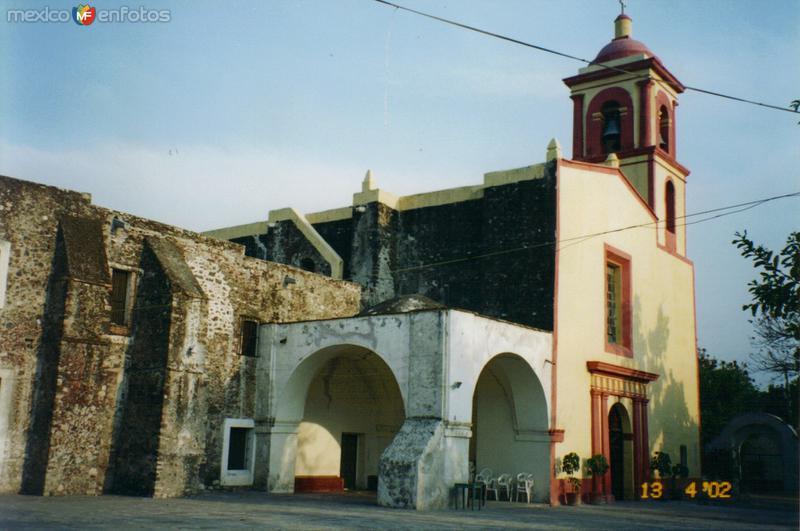 Ex-Convento de la Asunción del siglo XVI. Yautepec, Morelos