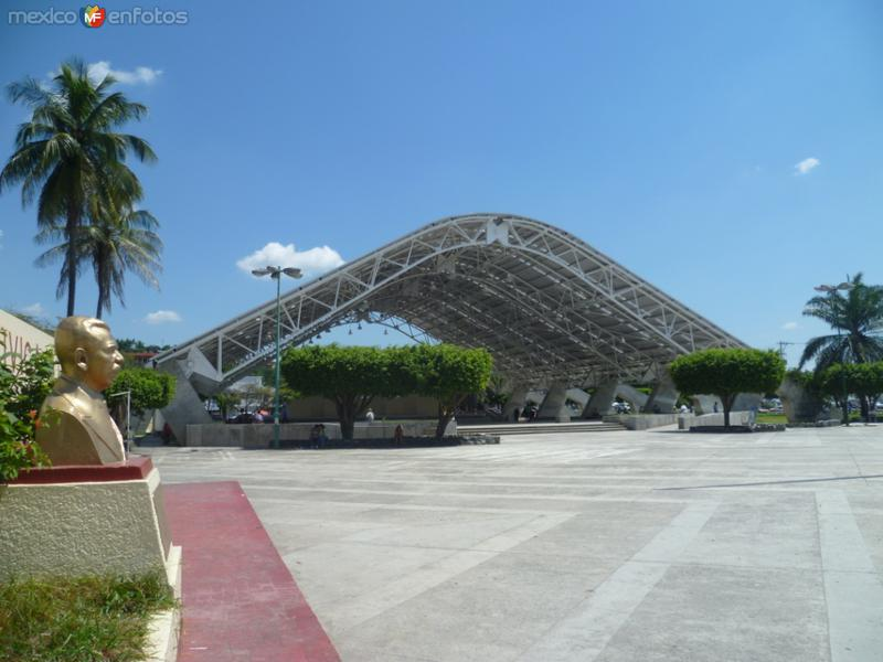 Fotos de Poza Rica, Veracruz, M�xico: Domo de la plaza c�vica 18 de marzo