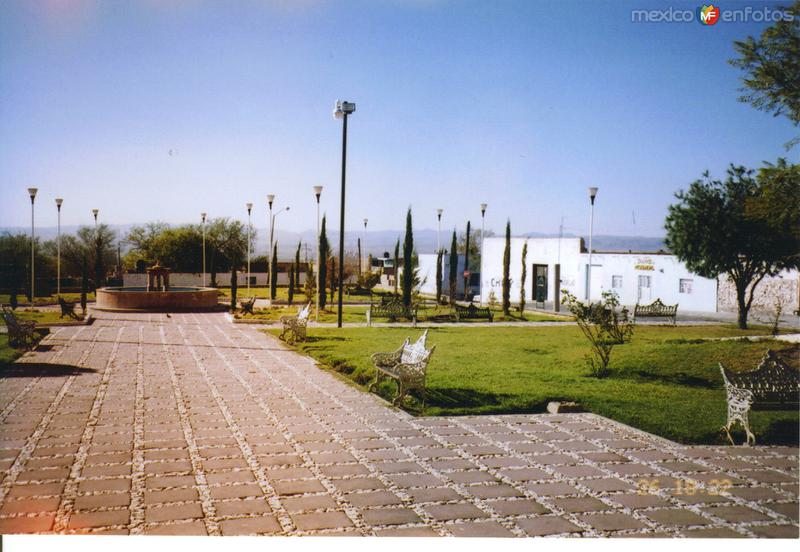 Plaza principal de Tepezala, Aguascalientes
