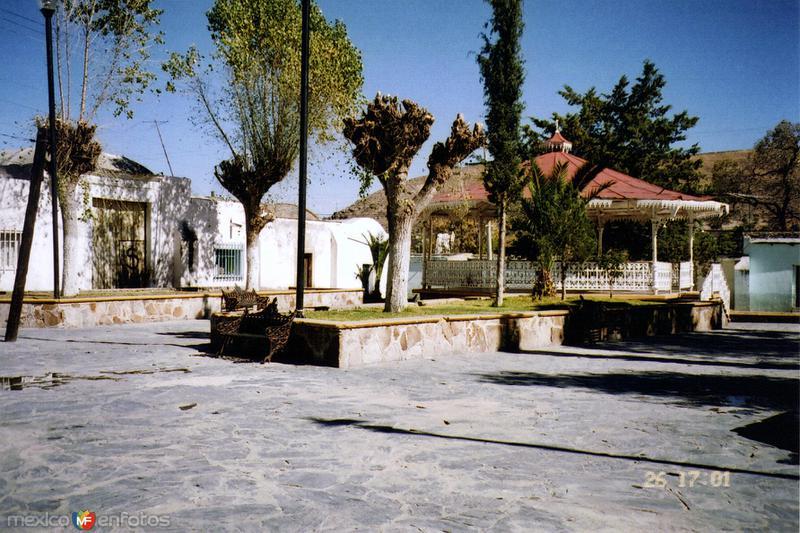 Kiosko y plazuela de Guadalupe. Real de Asientos, Aguascalientes