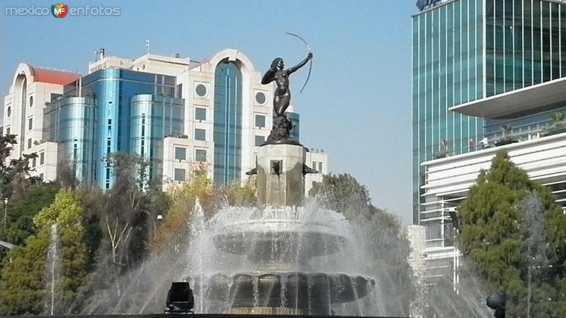 Monumento a la diana cazadora en reforma