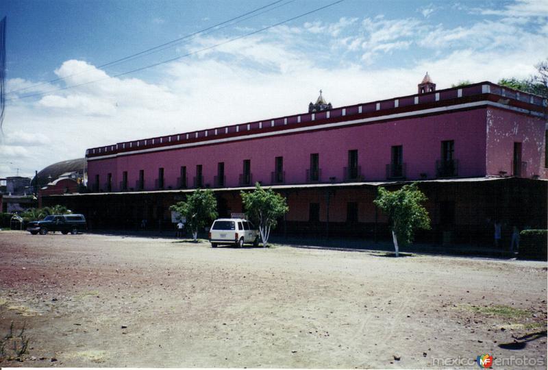 Antigüa estación del ferrocarril. Cuautla, Morelos
