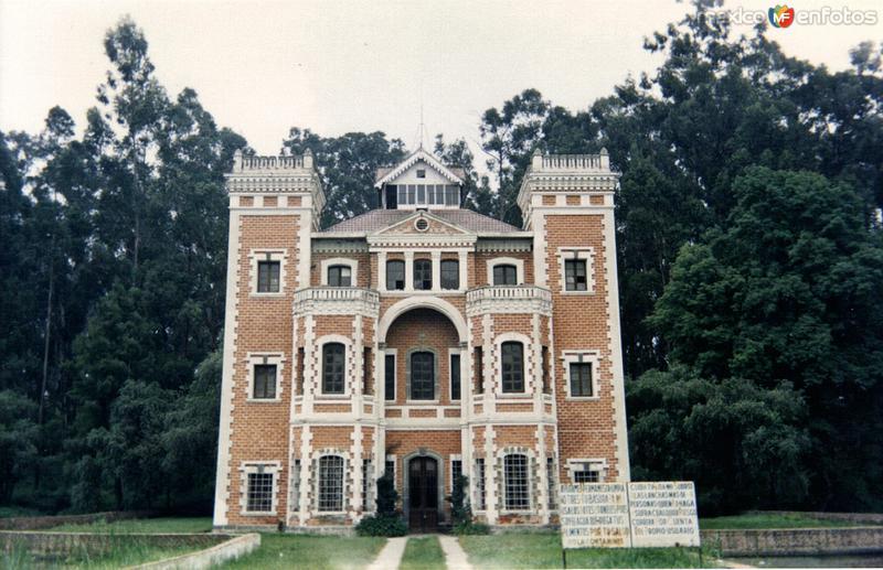 Construcción del siglo XIX, Ex-Hacienda de Chautla, Puebla