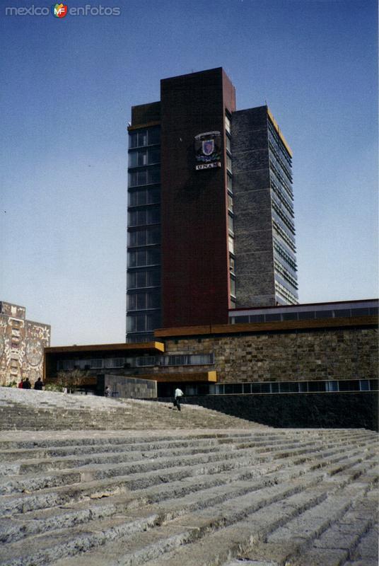 Torre de Rectoría de la UNAM. México, DF