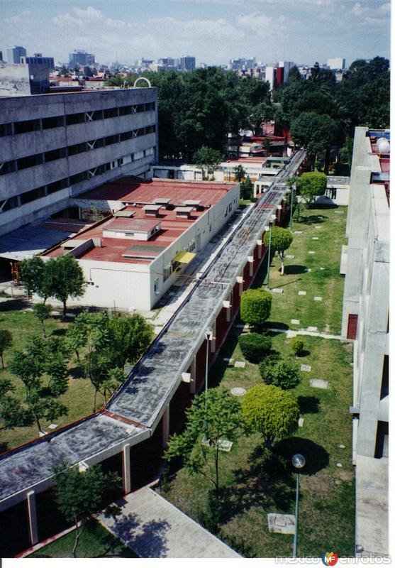Hospital General de México. Colonia Doctores. México, DF