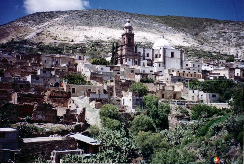 Panorámica de Real de Catorce, San Luis Potosí