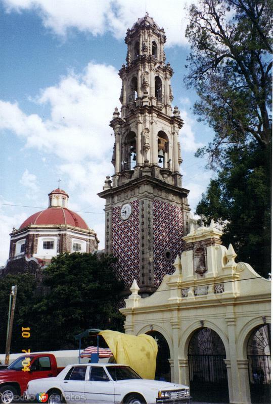 Ex-convento franciscano de San Juán, siglo XVI. Teotihuacán, Edo. de México