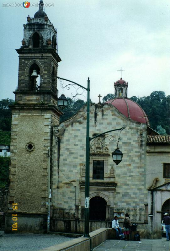 Ex-convento franciscano del siglo XVII. Tlalpujahua de Rayón, Michoacán