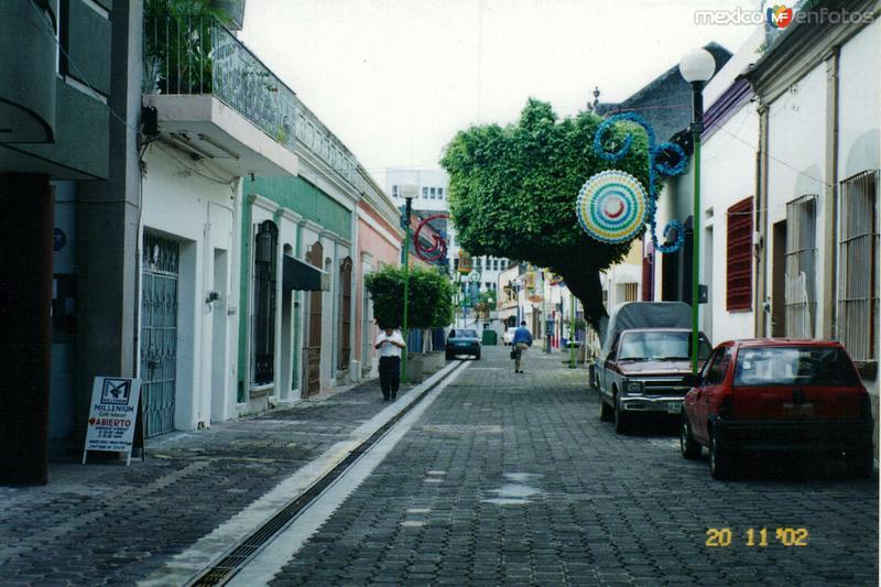 Calles de la zona Luz. Villahermosa, Tabasco