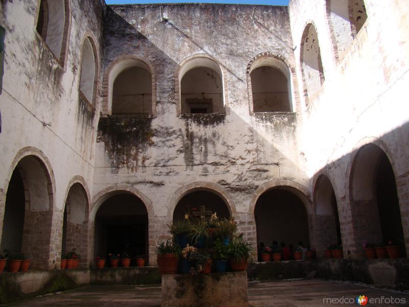 Fotos de Acatl�n, Hidalgo, M�xico: CLAUSTRO DEL EX-CONVENTO DE ACATLAN. ESTADO DE HIDALGO