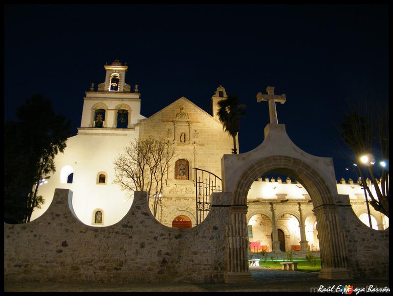Iglesia y ex-convento de Cuitzeo