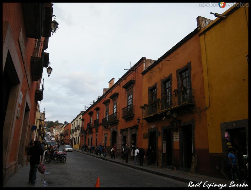 Las coloridas calles de San miguel