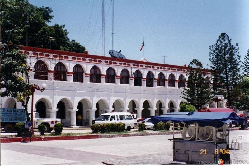 Fotos de Chiapa de Corzo, Chiapas, M�xico: Palacio municipal de Chiapa de Corzo. 2004