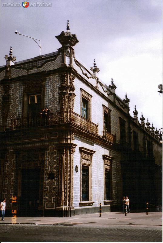 La Casa de los Azulejos (Siglo XVII). México, DF. 2008
