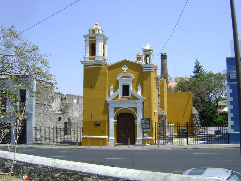 Iglesia en el Barrio El Alto. Puebla. Abril/2011