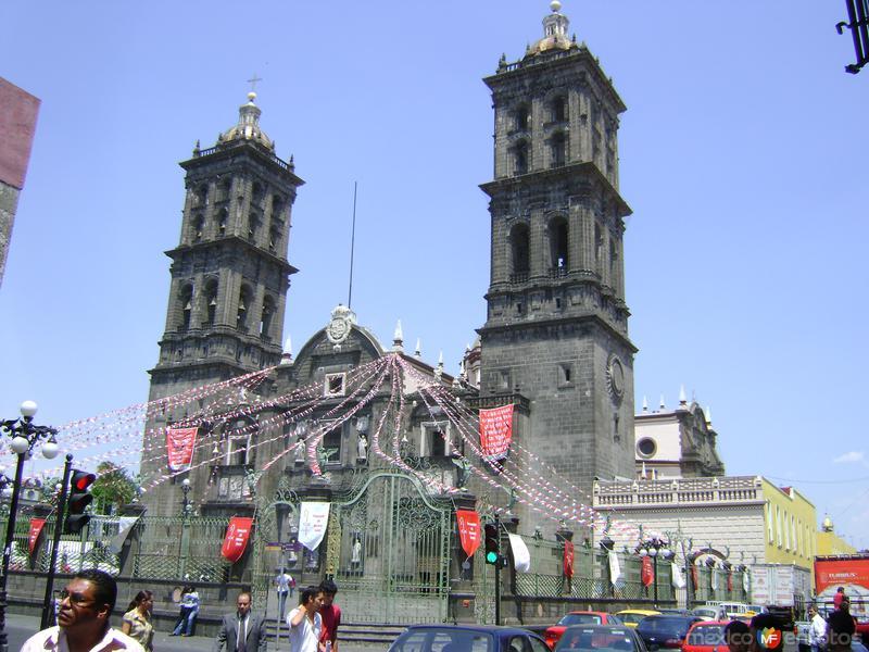 La Catedral de Puebla. Abril/2011