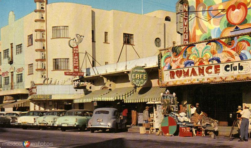 La Avenida Revolución. Tijuana, Baja California.