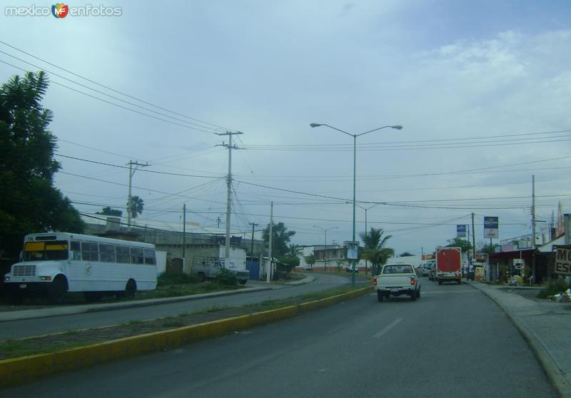 Blvd. Morelos. Amayuca, Morelos. Agosto/2011