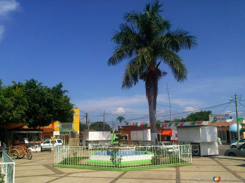 Fuente en la plaza