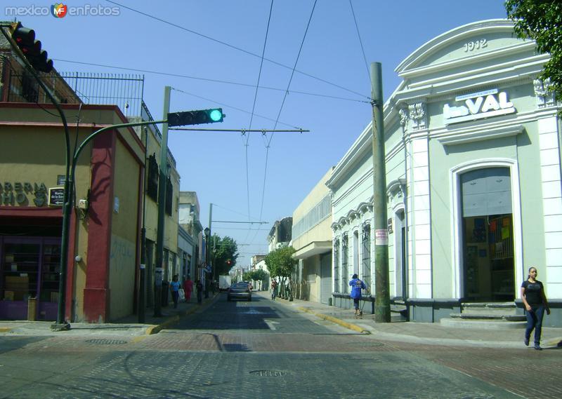 Calles del Centro Histórico de Guadalajara. Noviembre/2011