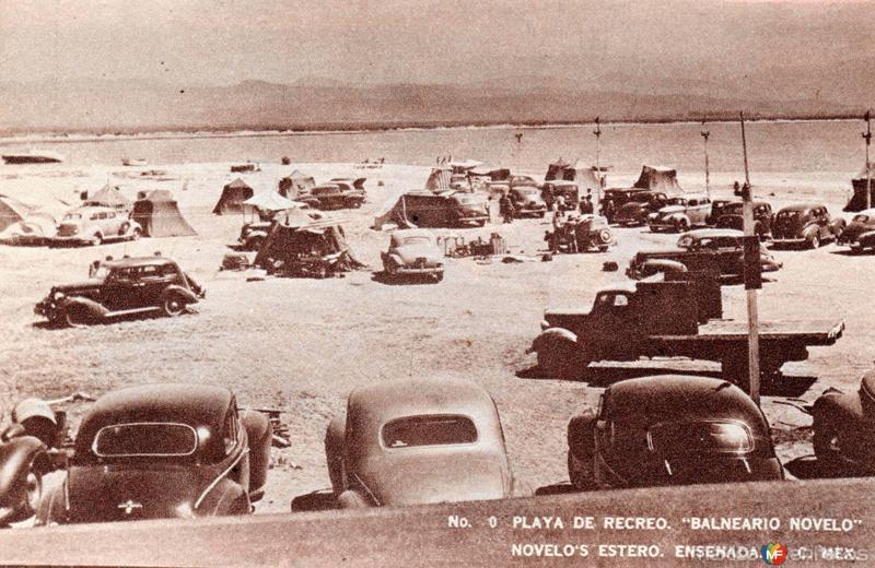 Playa del balneario Novelo
