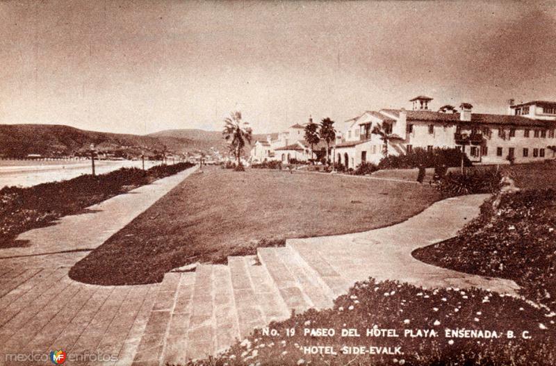 Paseo del Hotel Playa