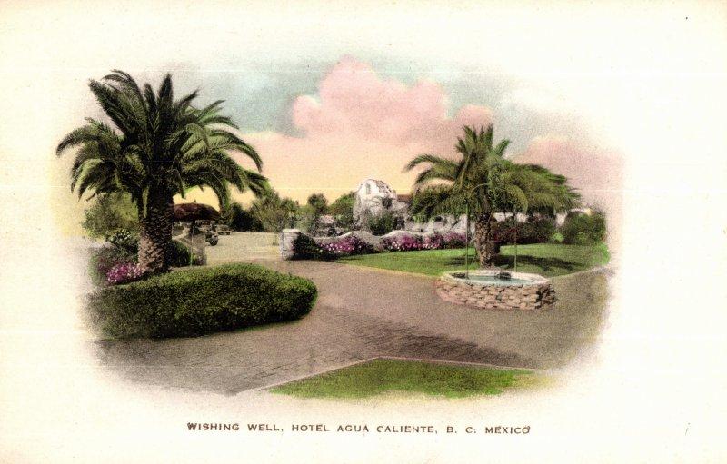 El pozo de los deseos, Hotel Agua Caliente
