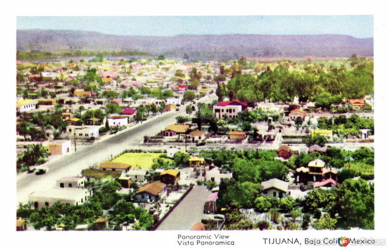Vista panorámica de Tijuana