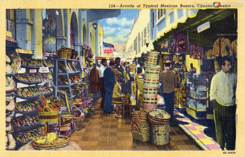 Mercado típico artesanal